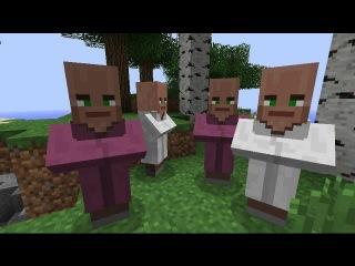 Как сделать деревню жителей в minecraft [Minecraft Механизмы]