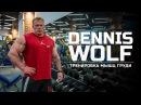 Мастер класс Dennis Wolf Тренировка мышц груди