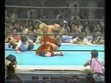 1988-05-27. NJPW. Owen Hart vs.  Hiroshi Hase.