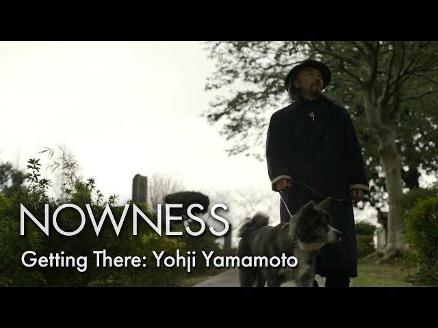"Yohji Yamamoto in ""Getting There"" by Matthew Donaldson"