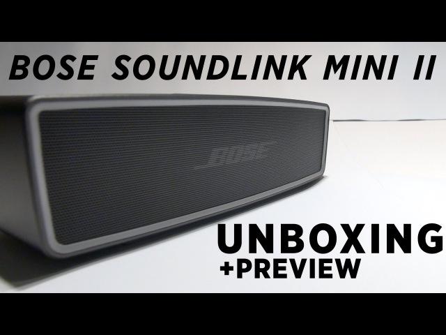 Bose SoundLink Mini II 2 Unboxing - Carbon Pearl Bluetooth Speaker