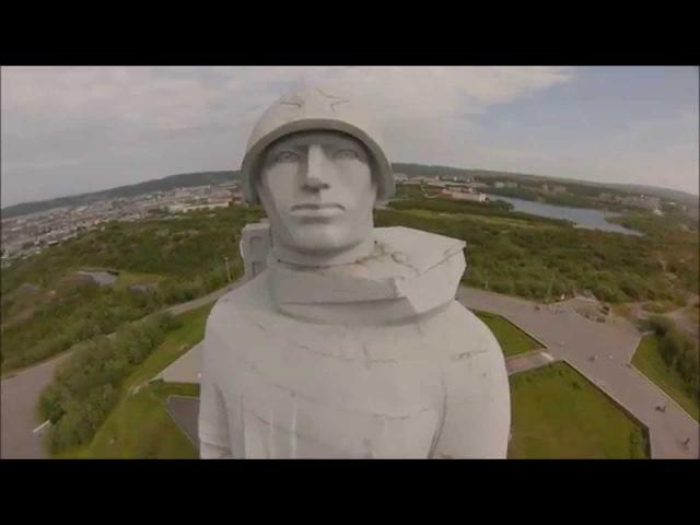 г. Мурманск Памятник Защитникам Заполярья «Алеша»