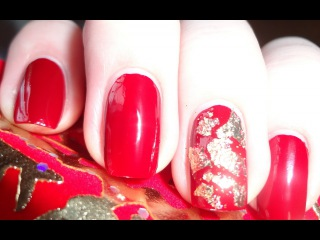 Дизайн ногтей с фольгой (nail designs with foil)
