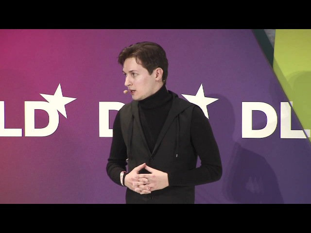 In Conversation (Jimmy Wales, Founder of Wikipedia Pavel Durov) | DLD12