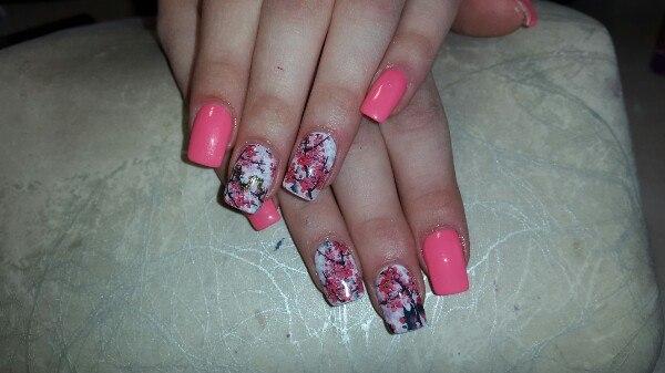 Уроки по наращиванию ногтей гелем на формах