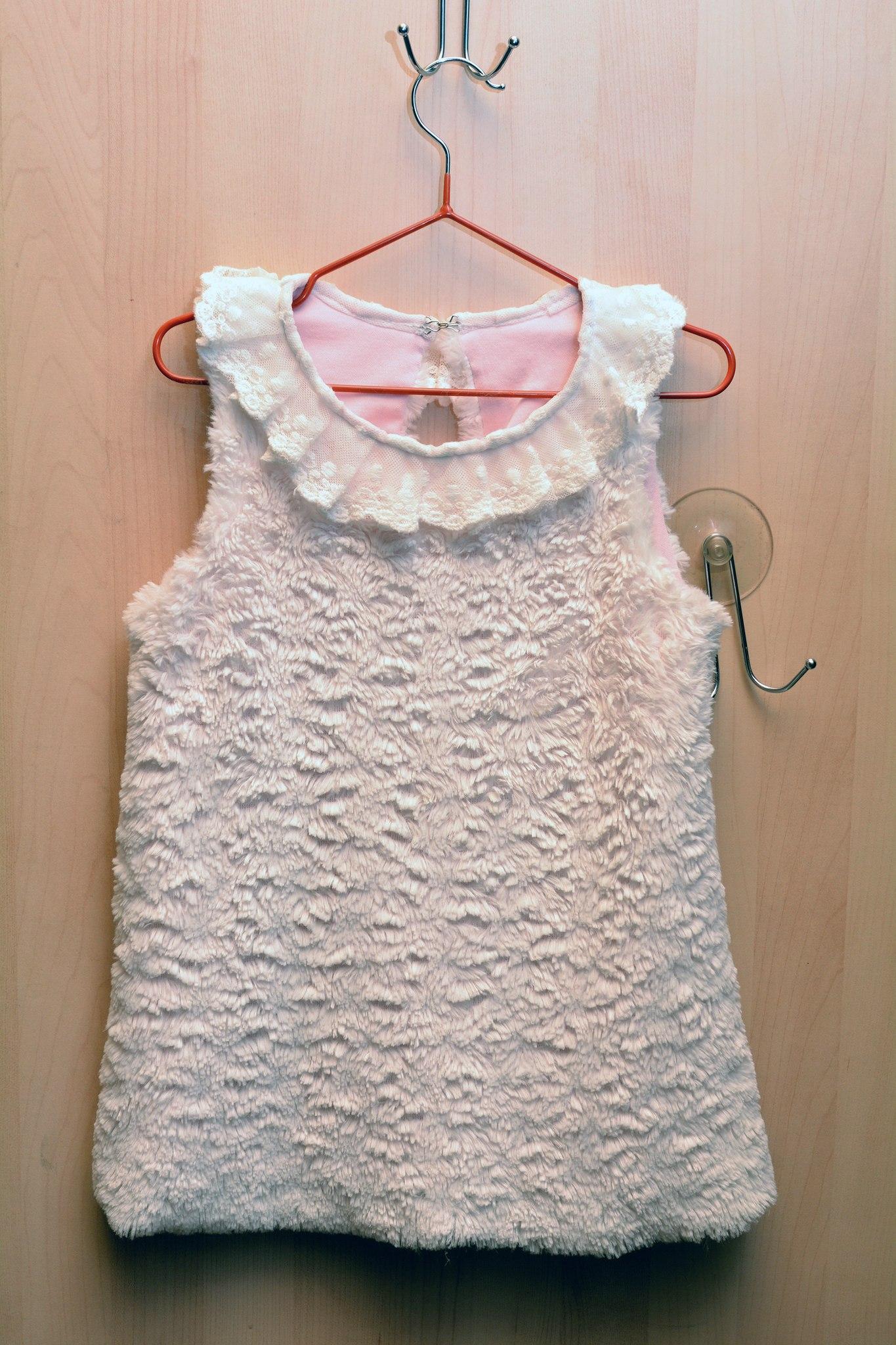 Вот такое платьице у меня получилось