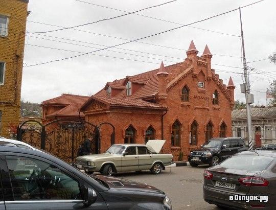 Бывшая фабрика, ныне музей