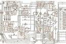 цветная электрическая схема газ 66 с описанием