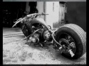 Rat rod volksrod motorcycle drag sam