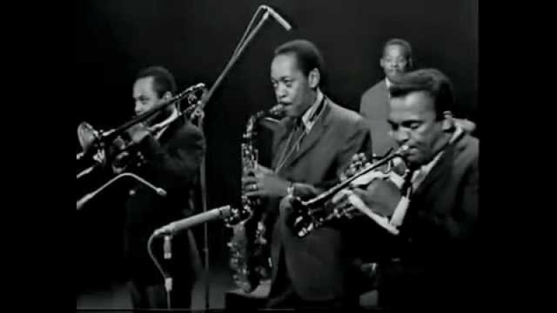 Sonny Stitt,Howard McGhee,JJ Johnson,Walter Bishop,Tommy Potter,Kenny Clarke.Buzzy