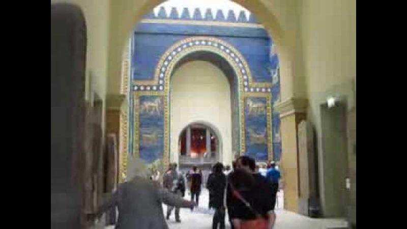 Ворота Иштар из Вавилона Пергамский музей