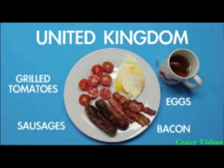 breakfast varieties by country - ülkelere göre kahvaltı çeşitleri