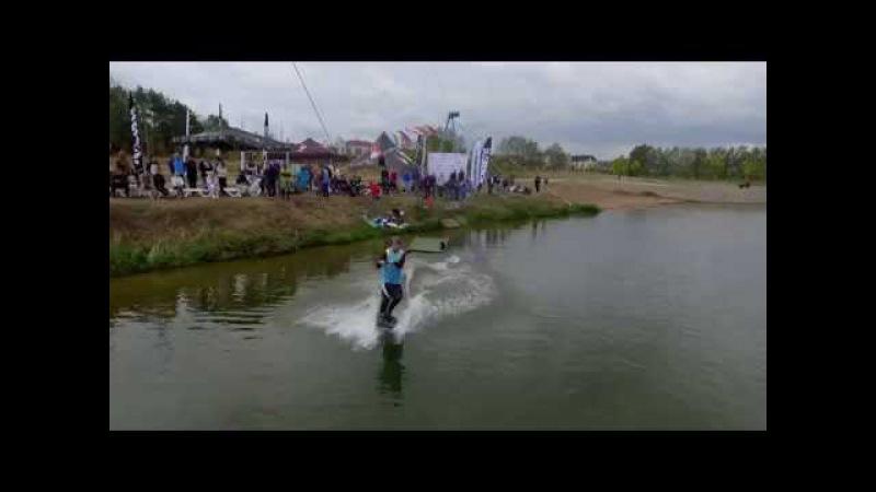 Чемпионат РБ - Wakeboarding l Аэровидеосъемка Минск l SkyFilm.by