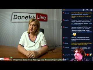 Donetsk Live №71: Подоляка Валентина Леонидовна