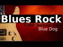 BLUES ROCK Jam Track in G Minor - Blue Dog