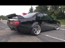 Modified BMW E24 635 CSI - Wheelspin exhaust sounds!