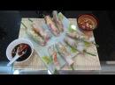 Вьетнамские блинчики с креветками НЭМ рецепт Спринг роллы Весенние роллы Фитне