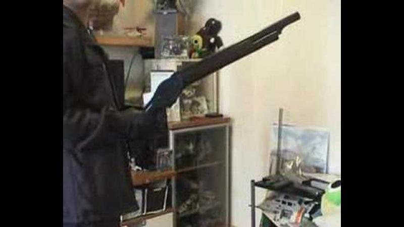 Marushin M1887 Terminator 2 Shotgun spinning and review