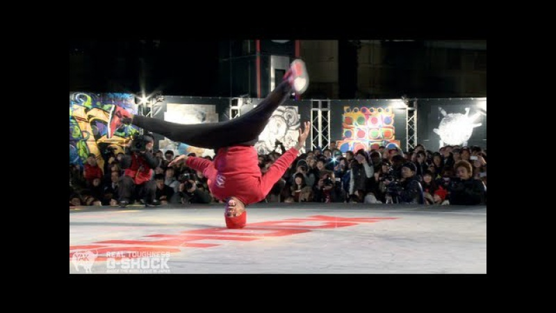 PradaG Smurf vs Stripes Tata G-SHOCK REAL TOUGHNESS Japan 2012   YAK FILMS