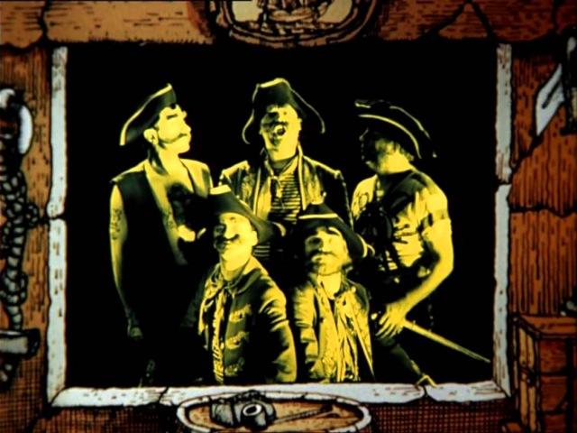 9 Песенка о вреде курения группа Гротеск и ВИА Фестиваль Остров сокровищ 1988г 720p
