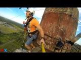 Ivan G ProX Rope Jumping Chelyabinsk Sarkofag 79 2015