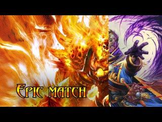 [Hearthstone] Tavern Brawl. Epic match.
