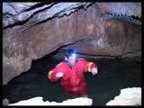 Пещера с водопадами в Б. Каньоне Крыма Waterfall Cave in Crimean Canyon
