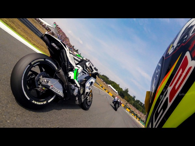 GoPro Hero4 Session Suit Integration - MotoGP