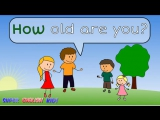 ♫ How are you or How old are you - Song for kids. (Grade 1)♫