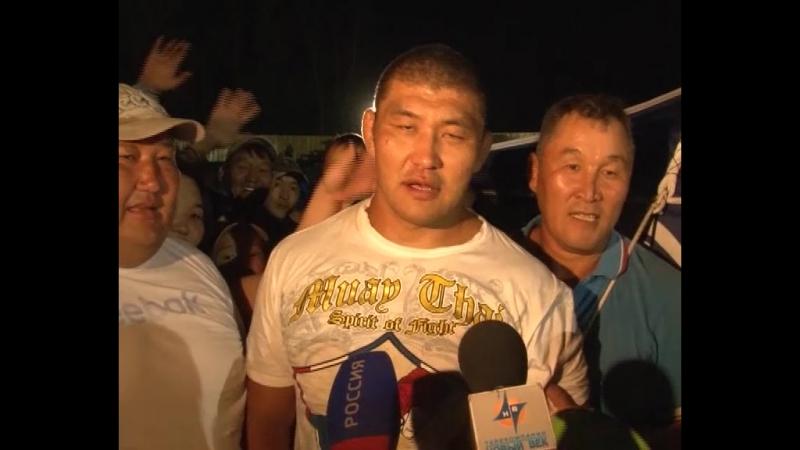 Матч -реванш между Казбеком Гогичаевым и Айдамиром Монгушем