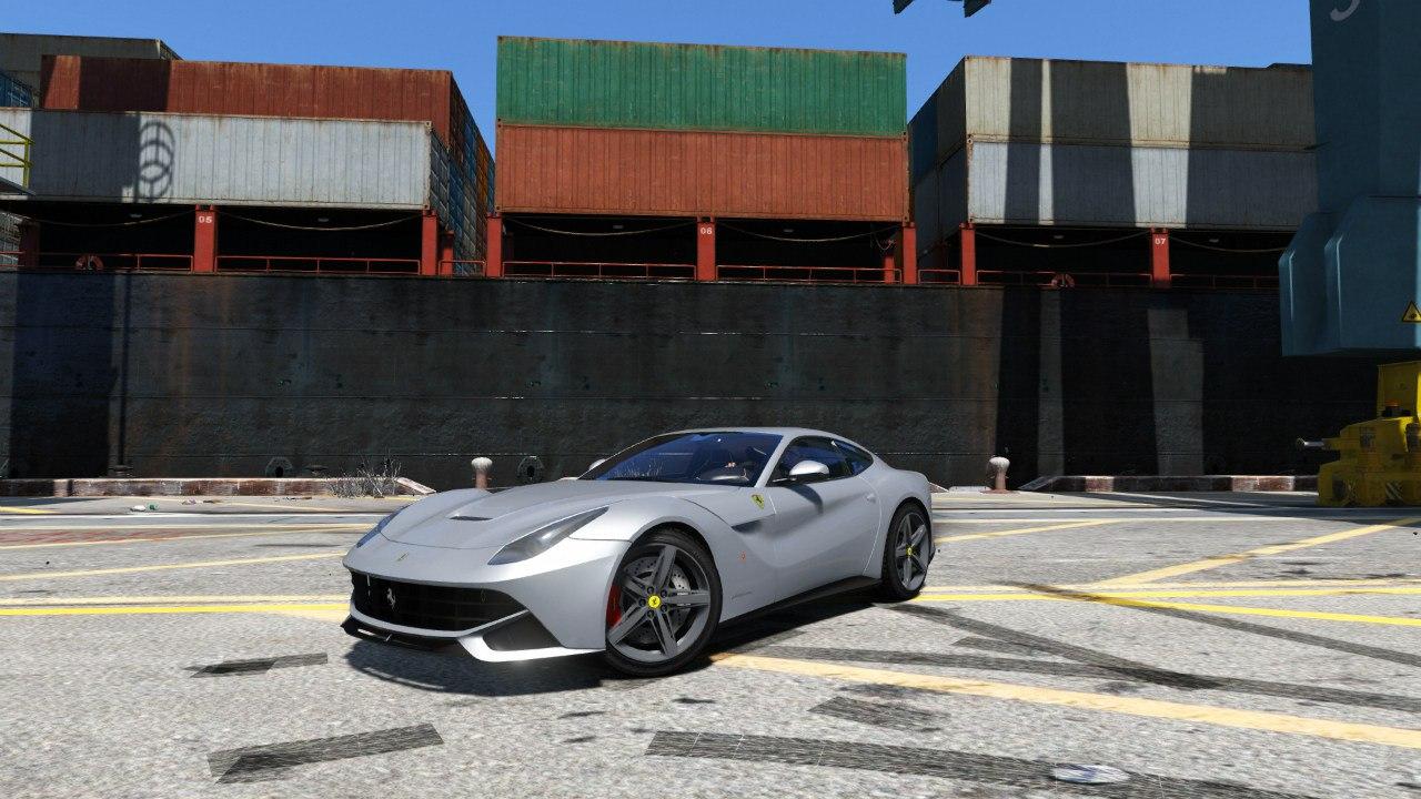 Ferrari F12 Berlinetta для GTA V - Скриншот 1