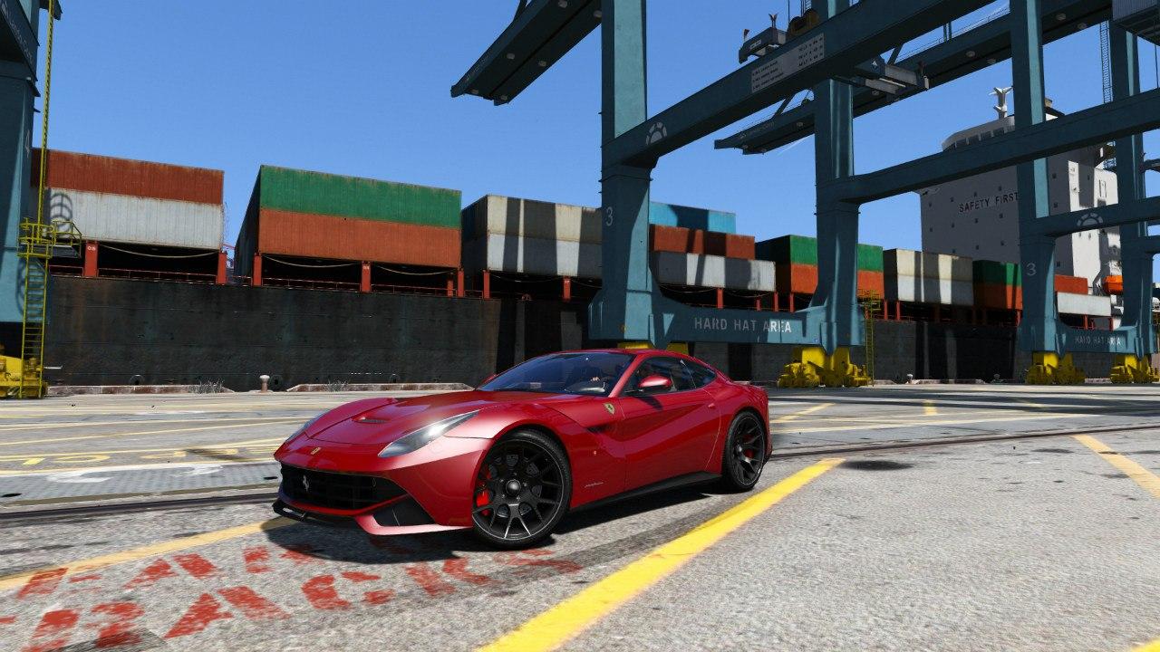Ferrari F12 Berlinetta для GTA V - Скриншот 3