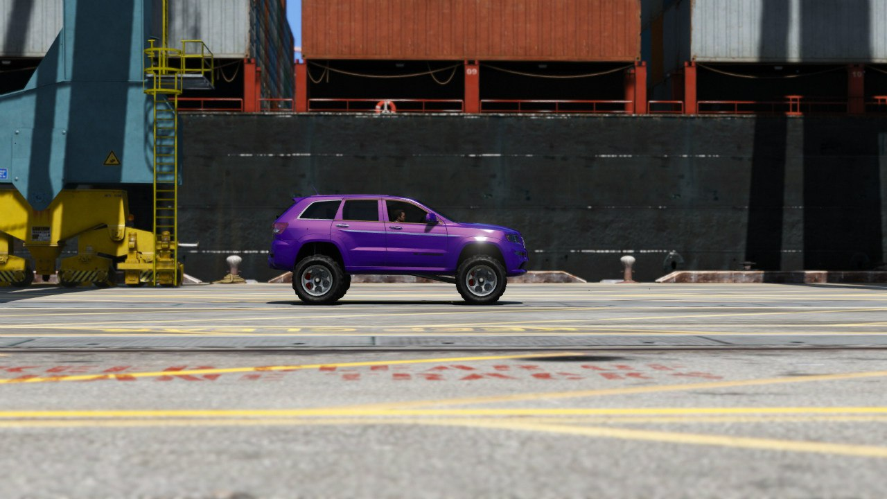 2013 Jeep Grand Cherokee SRT-8 Series IV 0.5 [BETA] для GTA V - Скриншот 1