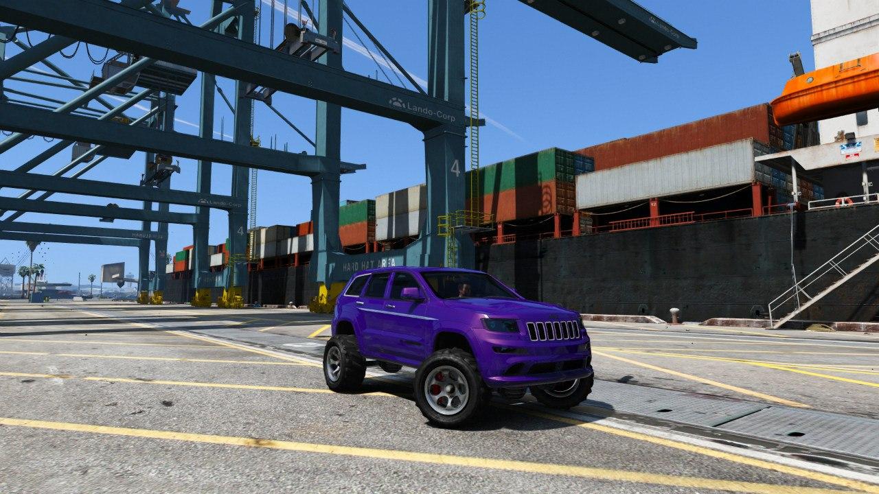 2013 Jeep Grand Cherokee SRT-8 Series IV 0.5 [BETA] для GTA V - Скриншот 2