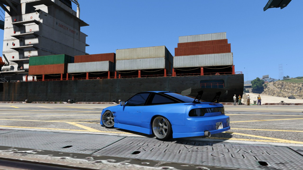 Nissan 180sx для GTA V - Скриншот 2