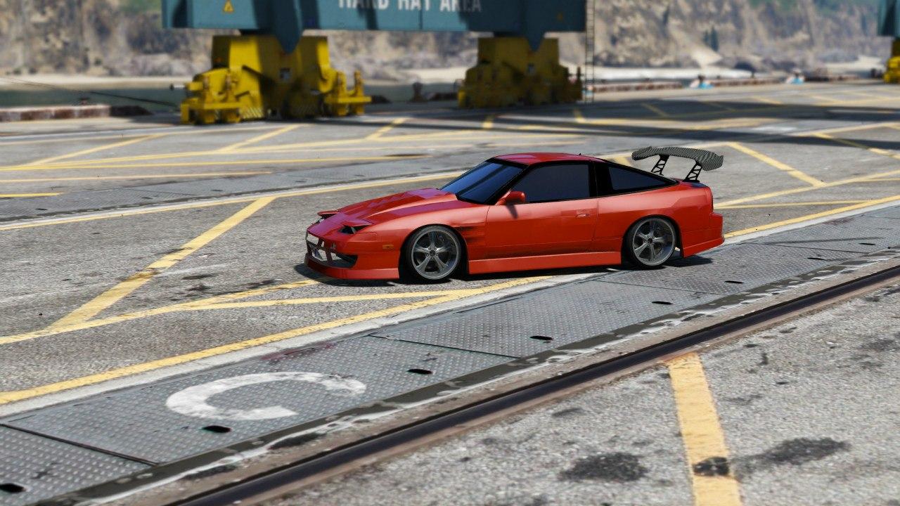 Nissan 180sx для GTA V - Скриншот 3