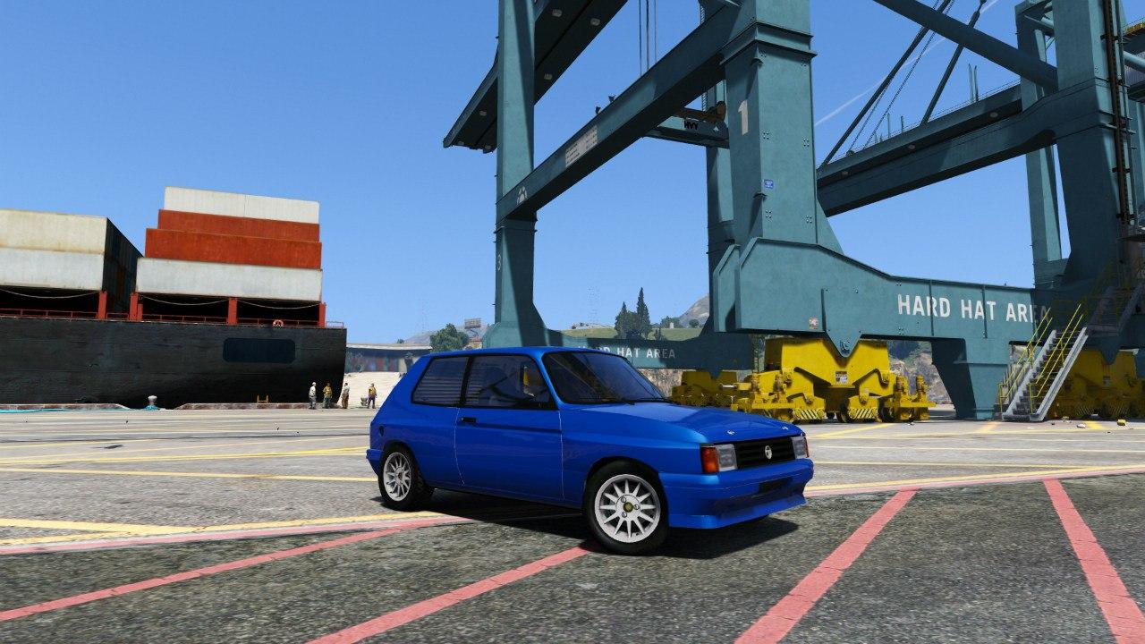 Talbot Samba Groupe B для GTA V - Скриншот 1