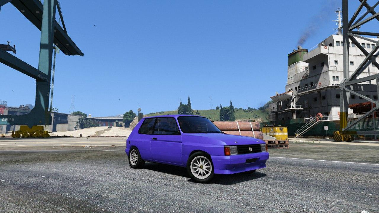 Talbot Samba Groupe B для GTA V - Скриншот 2
