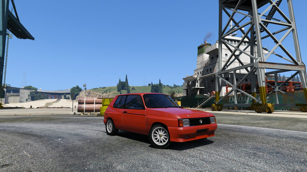 Talbot Samba Groupe B для GTA V - Скриншот 3