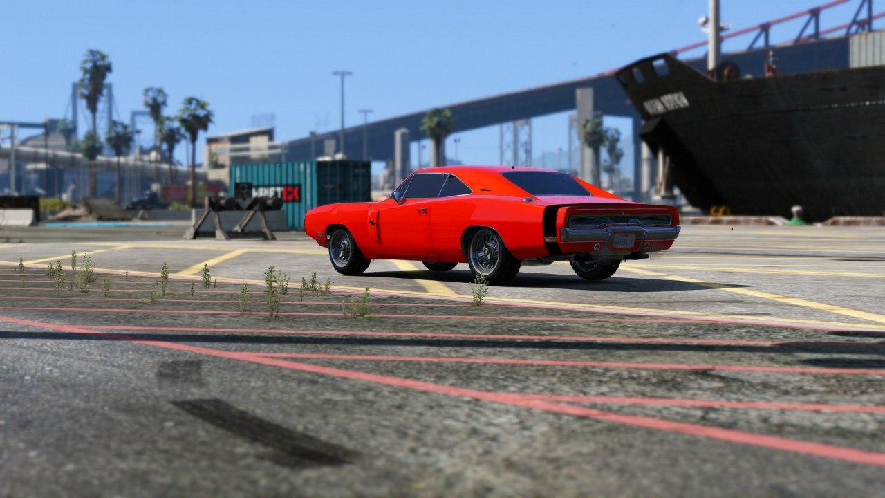 1970 Dodge Charger R/T для GTA V - Скриншот 3