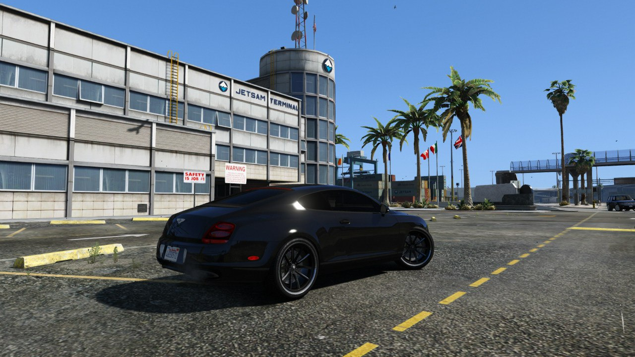 Bentley Continental Supersports [BETA2] для GTA V - Скриншот 1