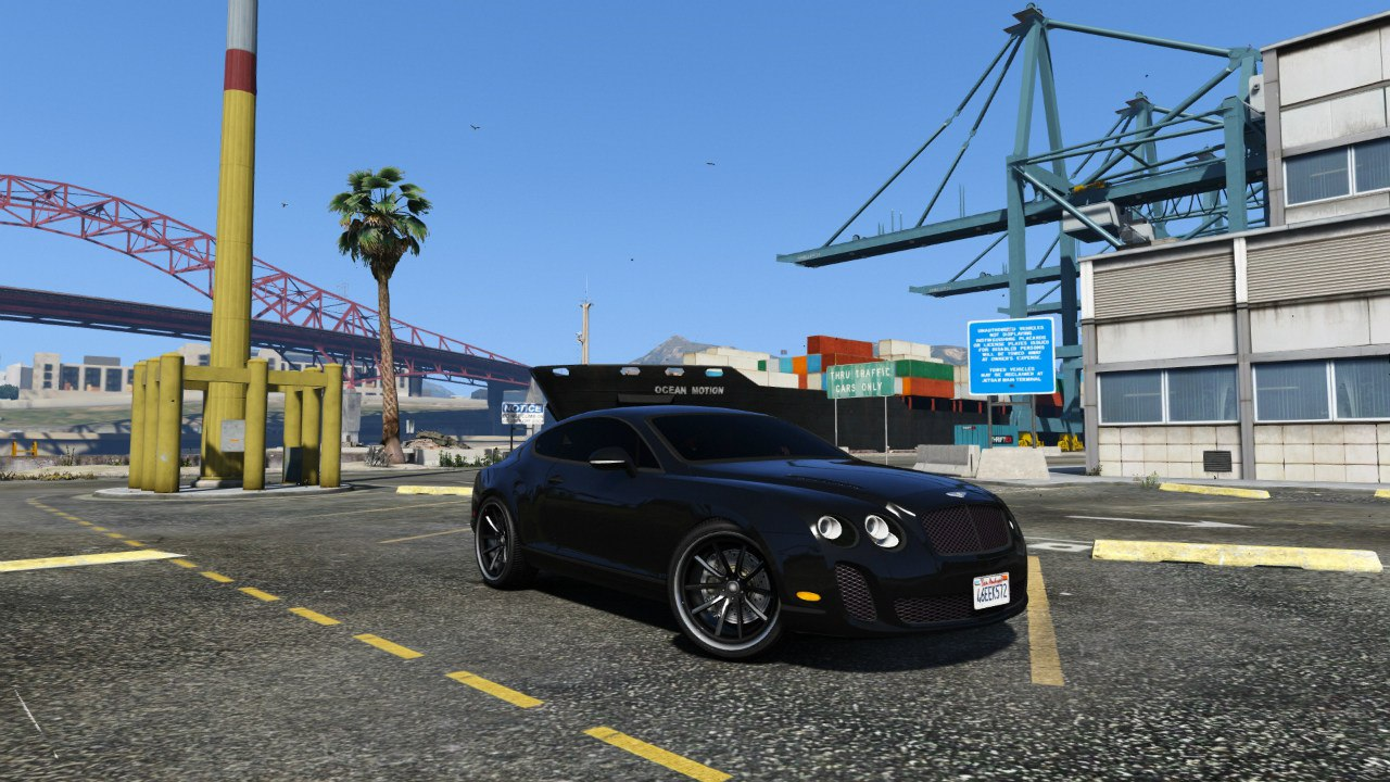 Bentley Continental Supersports [BETA2] для GTA V - Скриншот 2