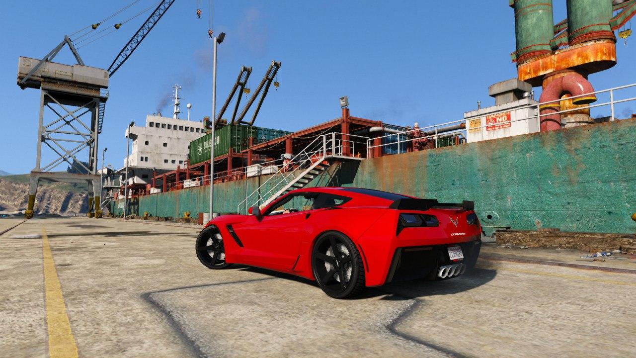 Chevrolet Corvette C7 Z06 для GTA V - Скриншот 2