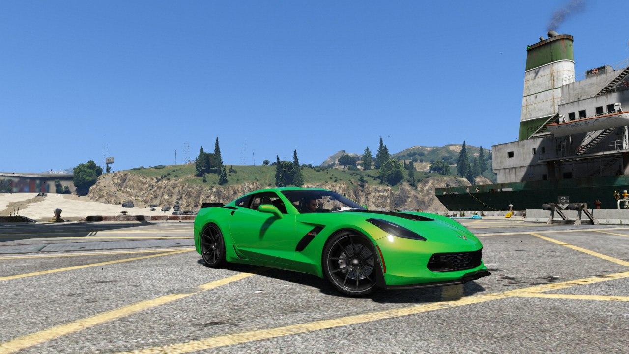 Chevrolet Corvette C7 Z06 для GTA V - Скриншот 3