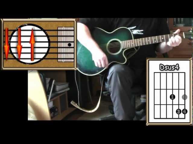 San Francisco Scott McKenzie Acoustic Guitar Lesson