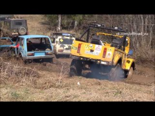 OffRoad 4wd Extreme 4x4. СТАРТ!!! Трофи гонка ДИКИЙ КАБАН 2015