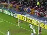 Первый гол Месси в Лиге Чемпионов. Барселона 5-0 Панатинаикос (2005-11-02)