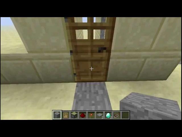 Волшебный коридор ловушка от гриферов в minecraft 1.5.2