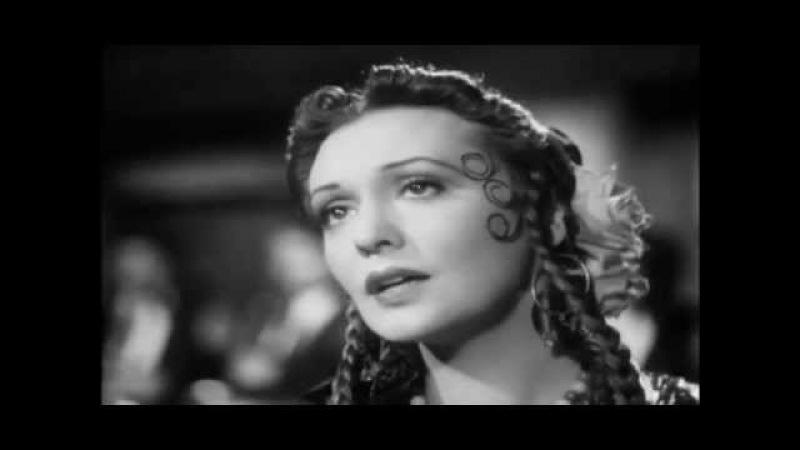 Zarah Leander Der Wind hat mir ein Lied erzählt La Habanera 1937