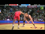 Jordan Burroughs (USA) vs David Taylor (USA) - 74kg Finals USA Wrestling